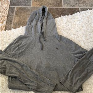 Abercrombie Hooded Long Sleeved T Shirt
